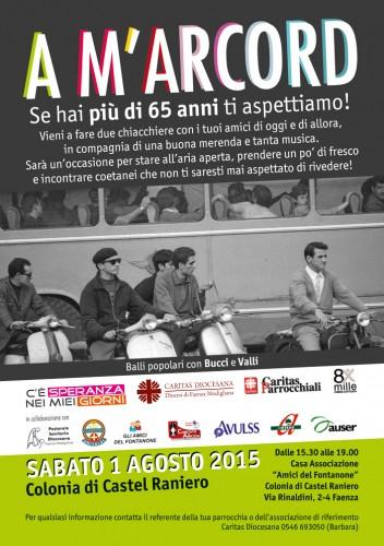 Festa per anziani Faenza