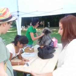 I volontari della Fiera del Baratto 2015