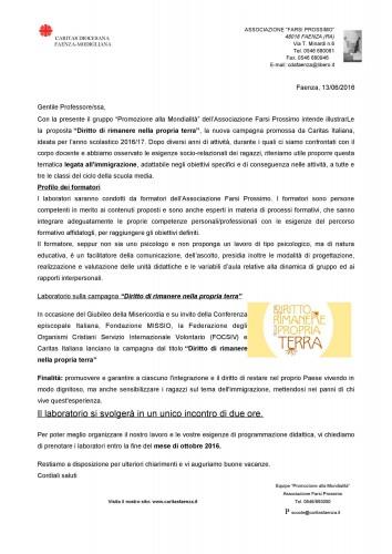 lettera per scuole-diritto di restare