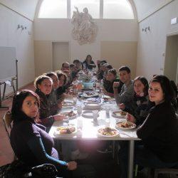 Pranzo comunitario al Centro di Ascolto Diocesano