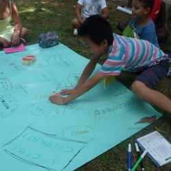 Laboratorio di italiano con i bambini stranieri